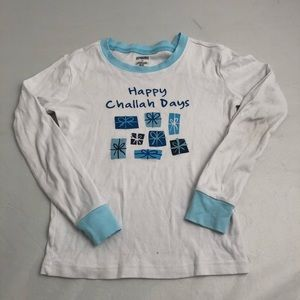 Gymboree Happy Challah Days pajama set